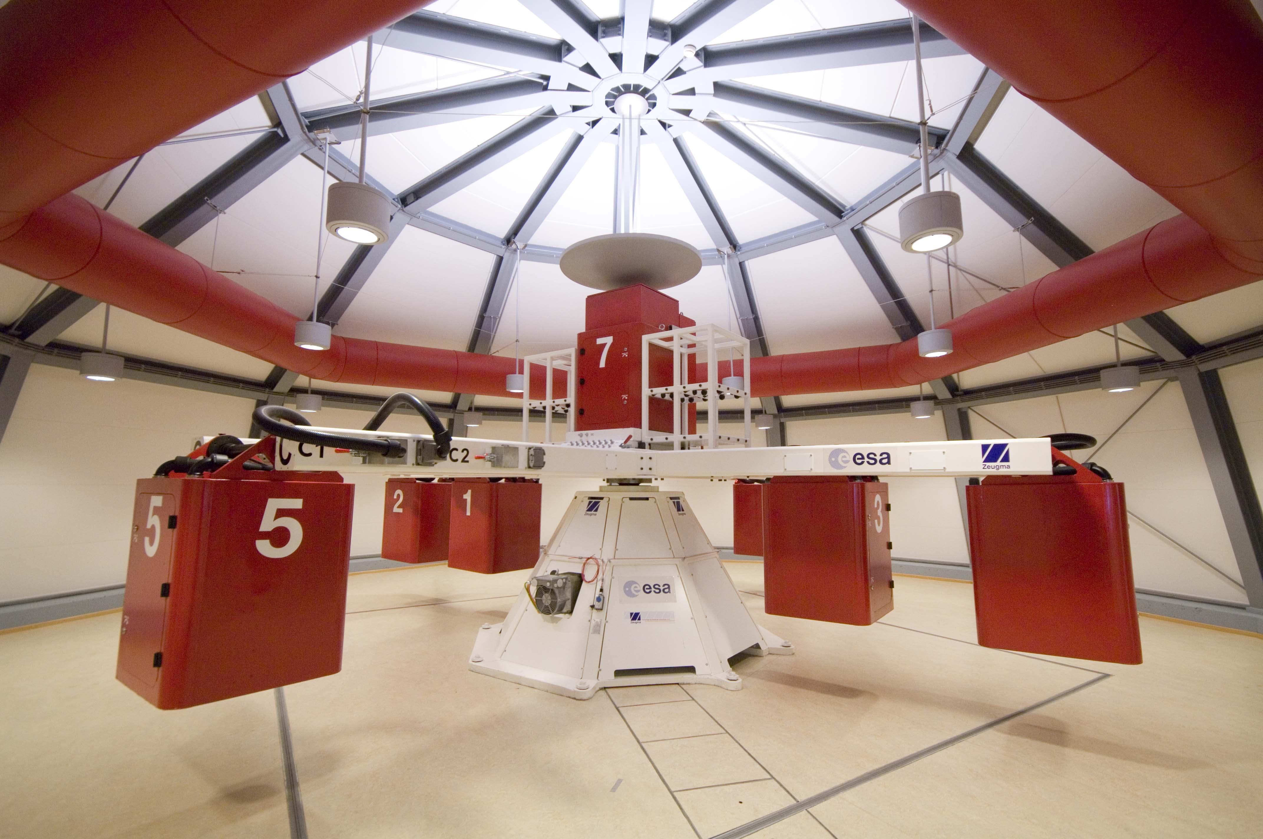 Nella centrifuga spaziale, contro l'invecchiamento