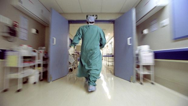 sanità, l'interno di un ospedale