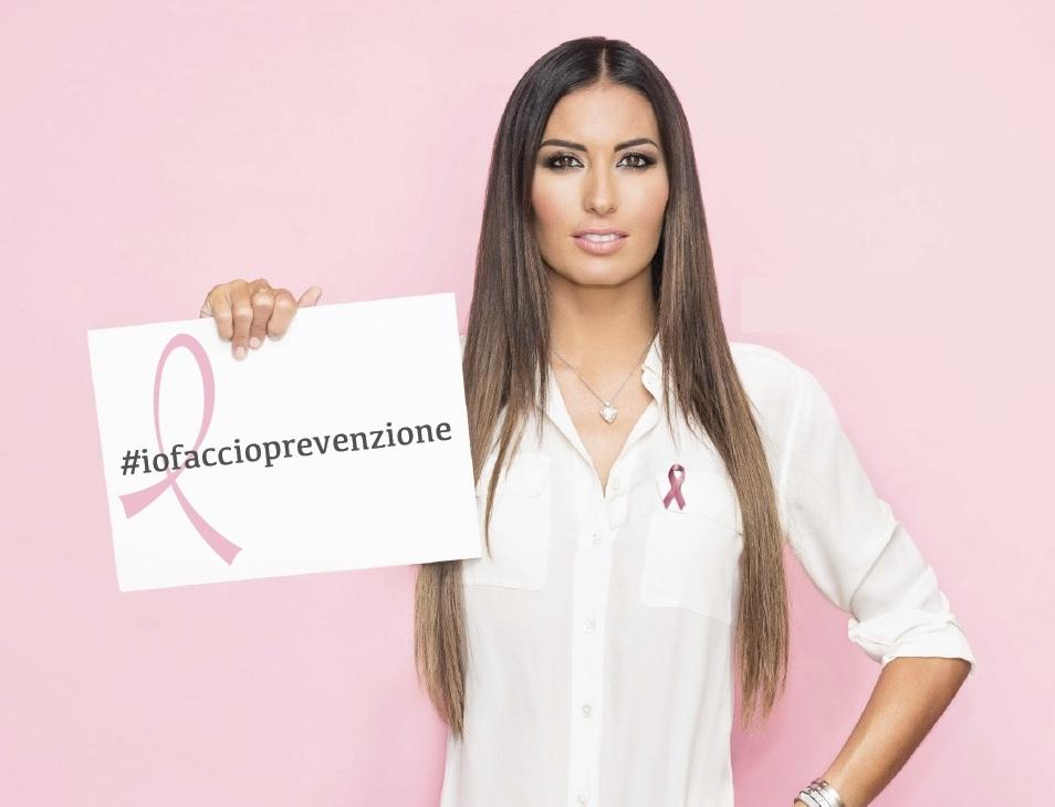 Elisabetta Grecoraci è testimonial 2016 della campagna di prevenzione. Cancro al seno: il 30 % ha meno di 50 anni