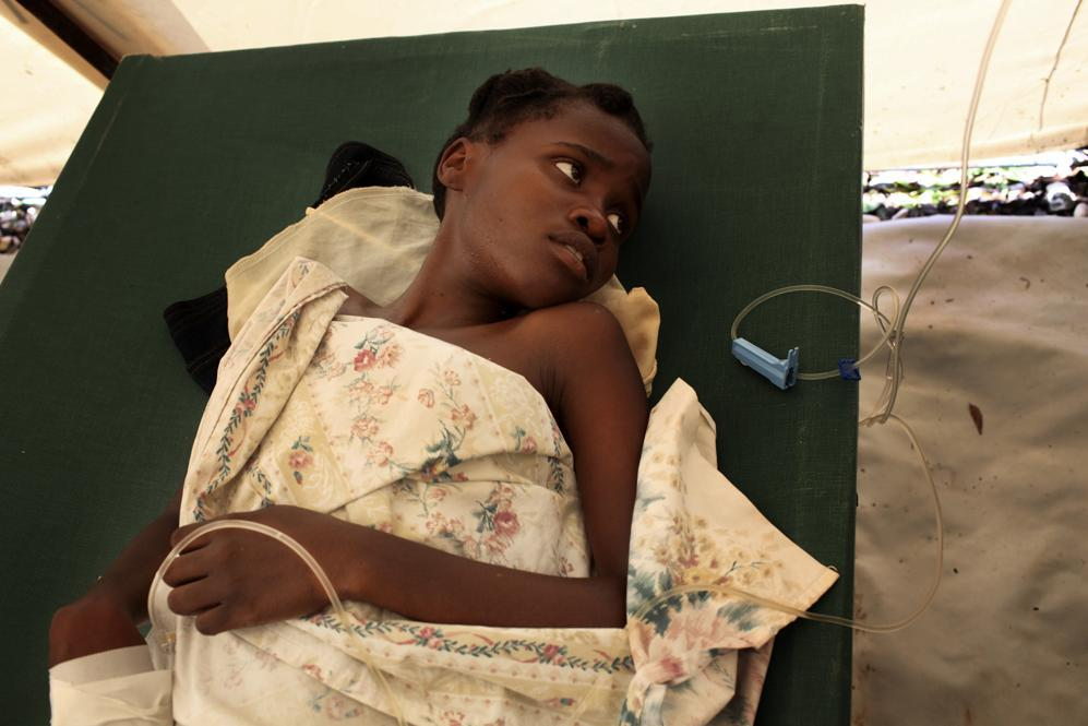 L'emergenza Colera ad Haiti e Africa centro- meridionale