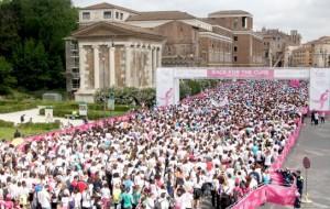 18anni di Race for the cure contro il tumore al seno che colpisce 1 donna su 9
