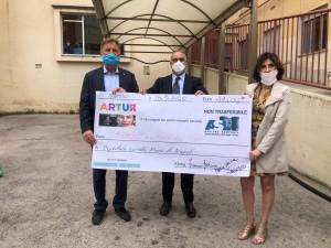 Covid, donazione in sostegno dell'asl napoli 1
