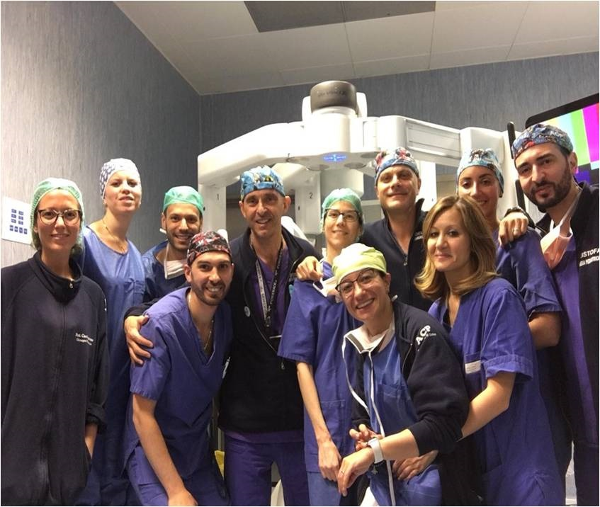 Federico II Foto Equipe Robotica Pediatrica Prof.Esposito