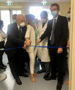 Inaugurazione della nuova terapia intensiva