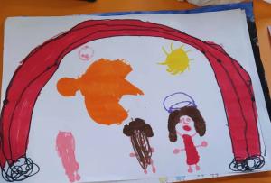 Sindrome MIS-C, uno dei disegni della piccola Luisa