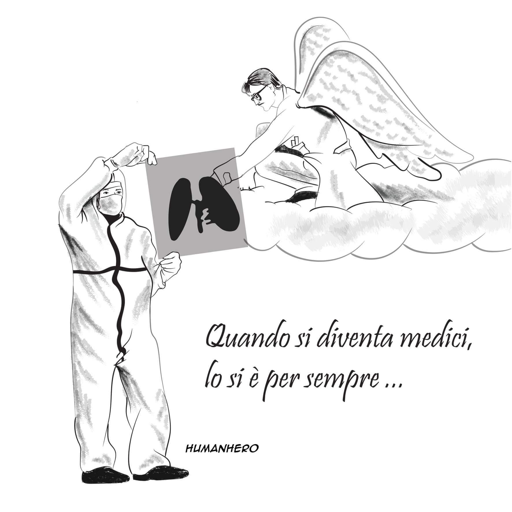 Covid, il disegno di Luca Carnevale