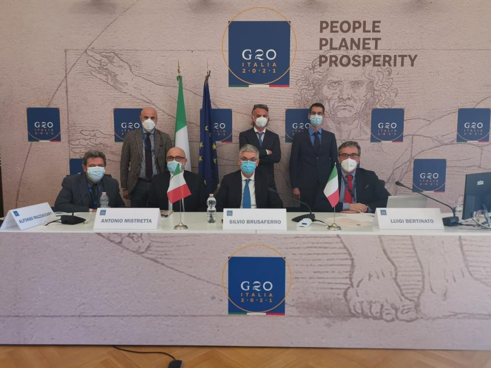 al G20 Iss propone formazione contro crisi sanitarie future