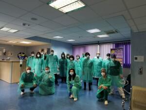 Pazienti Unità operativa complessa Oncologia medica Santa Maria delle Grazie di Pozzuoli1