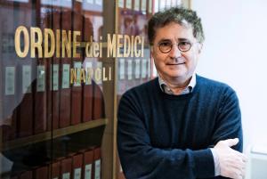Bruno Zuccarelli, presidente dell'Ordine dei Medici di Napoli