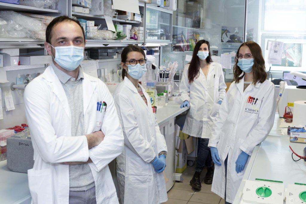 il team di Giovanni Piccoli, studioso che porta avanti ricerche sul Parkinson
