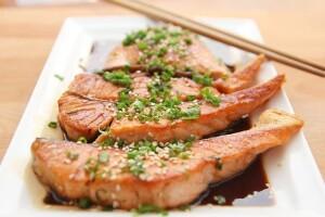 Pesce cucinato in modo orientale