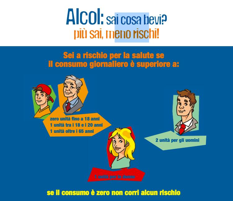 prevenzione abuso di alcol