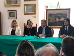 Maria Triassi, Annamaria Colao, Antonio d'Amore e il sindaco Josi